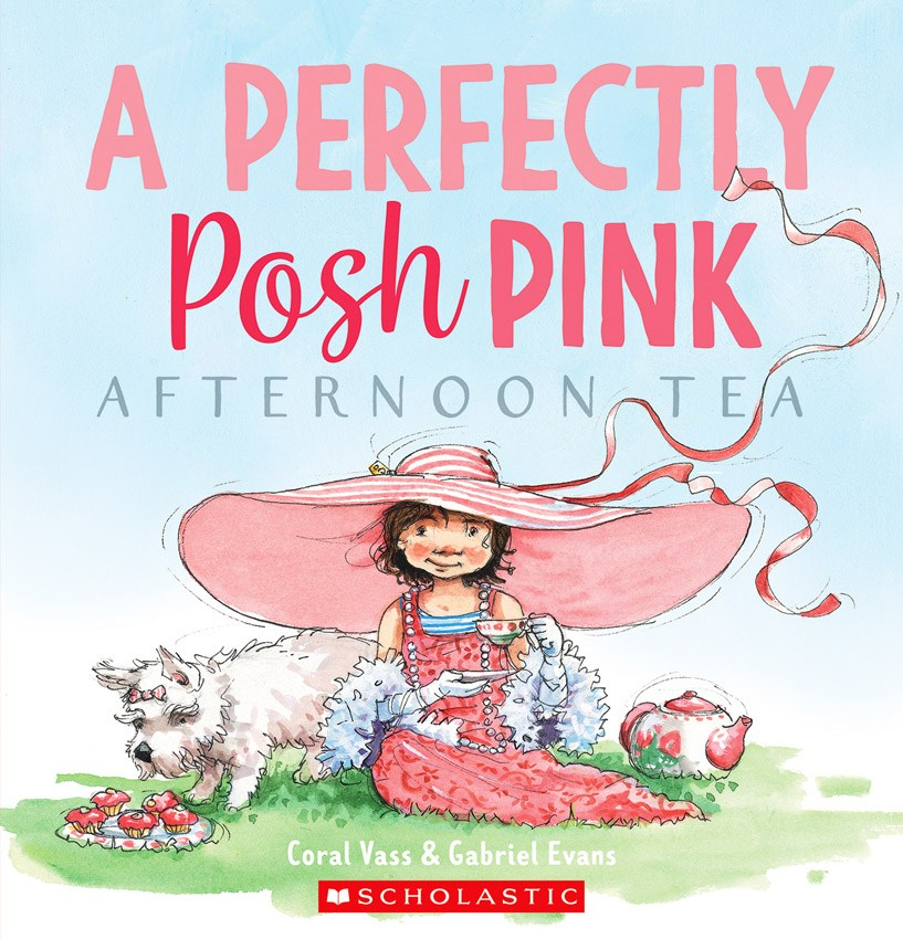 A Perfectly Posh Pink Afternoon Tea - Gabriel Evans