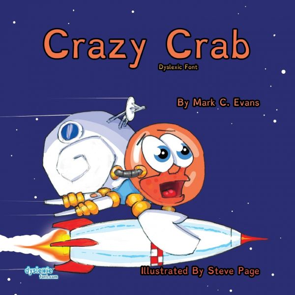 Crazy Crab - Mark C Evans