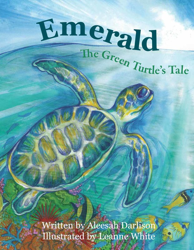 Emerald Green Turtle - Leanne White