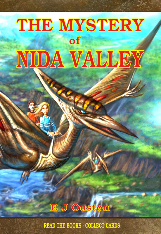 THE MYSTERY OF NIDA VALLEY - Elaine Ouston