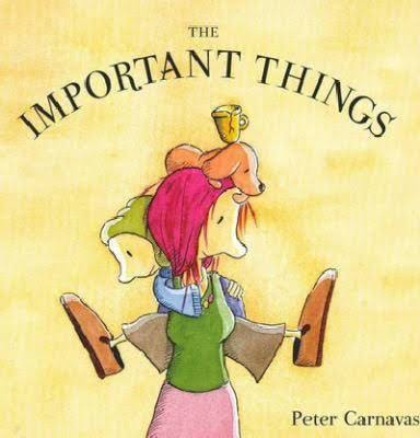 The Important Things - Peter Carnavas