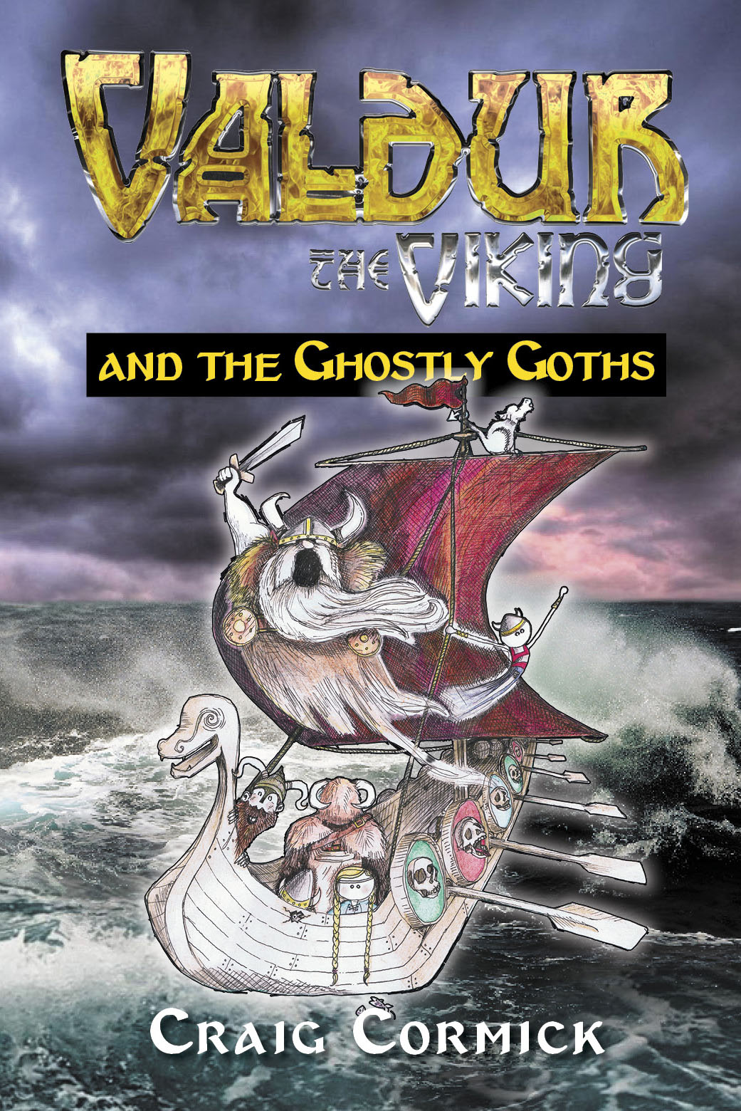 Valdur the Viking and the Ghostly Goths - Craig Cormick