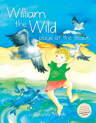William the Wild plays at the beach - Leanne White
