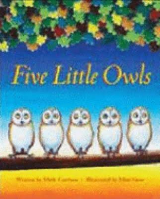 Five Little Owls - Mark Carthew