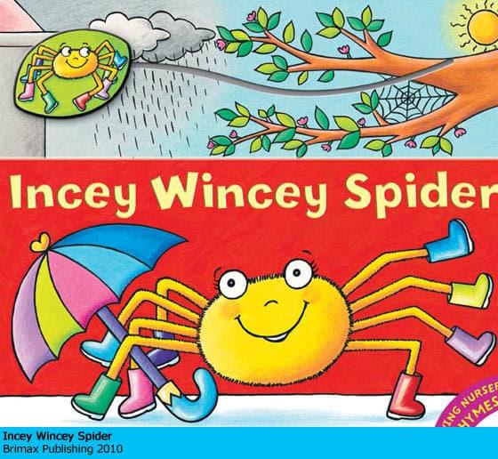 Incey Wincey Spider - Marjory Gardner