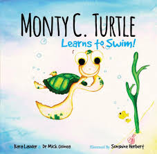 Monty C Turtle Learns to Swim - Sunshine Herbert