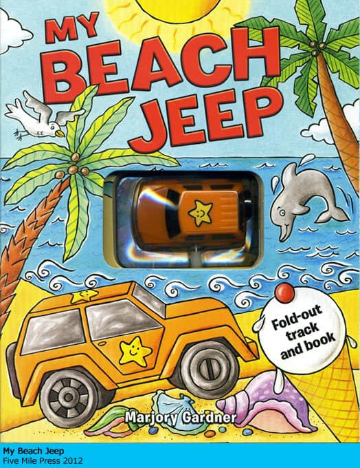 My Beach Jeep - Marjory Gardner
