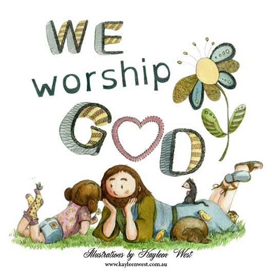 We Worship God - Kayleen West